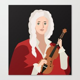 great italian classical music composer Canvas Print