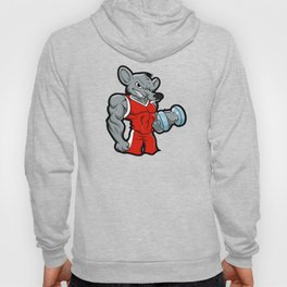 Gym Rat body building training Hoody
