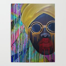 African Woman Poster