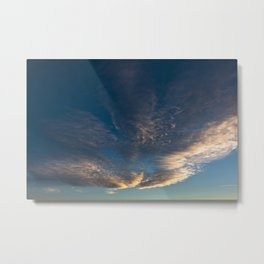 clouds 09 Metal Print