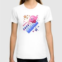 kirby T-shirts featuring Kirby Beam by likelikes
