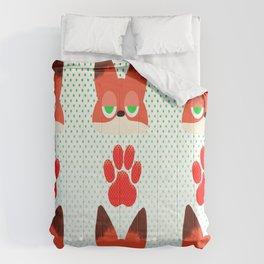 Loyal fox Comforters
