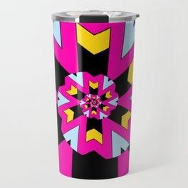 Trippy Spiral Pattern Travel Mug
