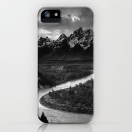 Ansel Adams - The Tetons and Snake River iPhone Case
