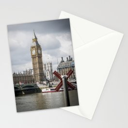Big ben small bird Stationery Cards