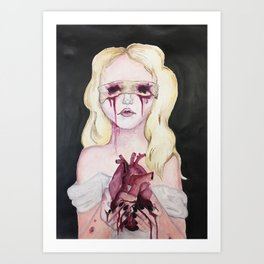 Blinded By Your Love Art Print