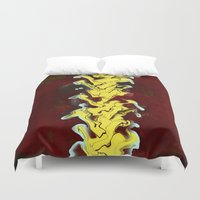 flash Duvet Covers featuring Flash by Red Gauntlet