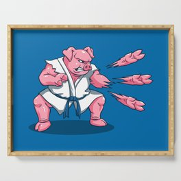 Pork Chops Serving Tray