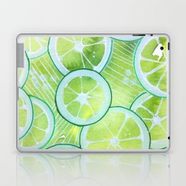Lime Rings Laptop & iPad Skin