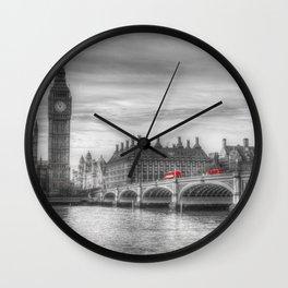 Westminster Bridge and Big Ben Wall Clock