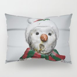 Frosty Jack - The 2 Hours & 45 Minutes Before Christmas Pillow Sham