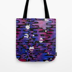 Sunsets on Other Planets Tote Bag