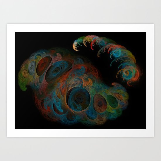 The World Within Art Print