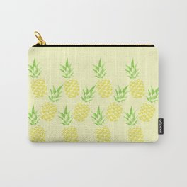Pineapple watercolour (yellow) Carry-All Pouch