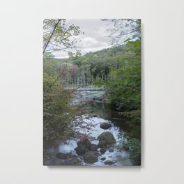 River of the Woodlands 01 Metal Print