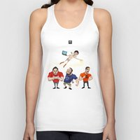 inside gaming Tank Tops featuring Inside Gaming  by Haizeel Hashnan