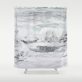 Minty bubble gum Shower Curtain