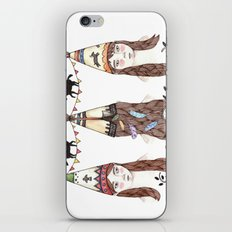 Tipi Party iPhone Skin