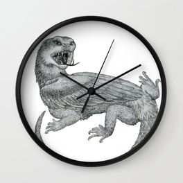 Aggressive Fantasy Creature Wall Clock