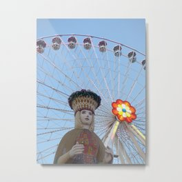 queen of the the prater Metal Print