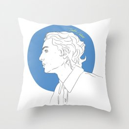 Call Me By Your Name (Timothée Chalamet) Throw Pillow