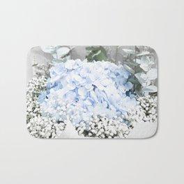 Hydrangea dreams Bath Mat