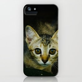 wide-eyed iPhone Case