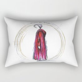 Praise be, Bitch - The Handmaids Tale (2) Rectangular Pillow
