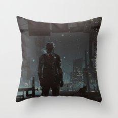 After fall Throw Pillow