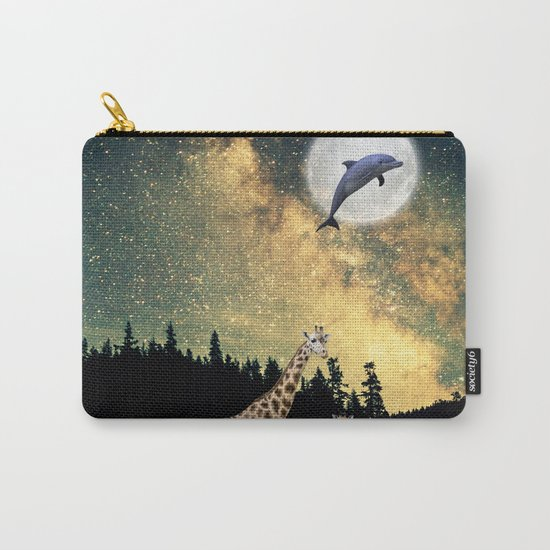 flying dolphin Carry-All Pouch
