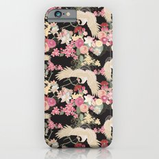 Japanese garden with cranes iPhone 6s Slim Case