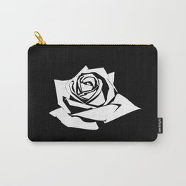 Rose Stencil Carry-All Pouch