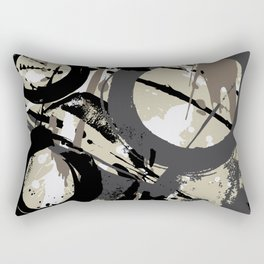 Enso Groove D by Kathy Morton Stanion Rectangular Pillow