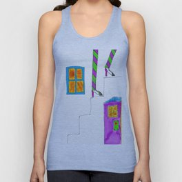 Bob (stair series) Unisex Tank Top