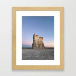 Monument Dusk Framed Art Print