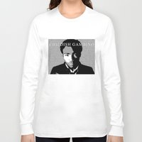 childish gambino Long Sleeve T-shirts featuring Childish Gambino by Dan Still