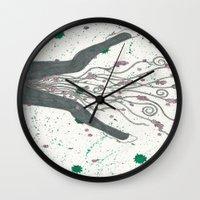 legs Wall Clocks featuring Legs by Labartwurx