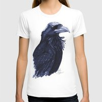 raven T-shirts featuring .Raven by Isaiah K. Stephens