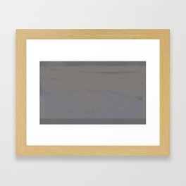 'The Catskill Mountain IV - Beige' Framed Art Print