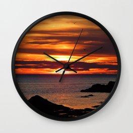Sunrise Flight  Wall Clock
