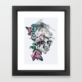 Momento Mori Rev V Framed Art Print