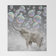 The Simple Things Are the Most Extraordinary (Elephant-Size Dreams) Throw Blanket