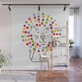 Dandy Lion Wall Mural