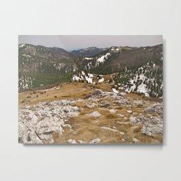 Mountain 2 Metal Print