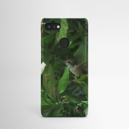 Lady Lurking in the Shade Android Case