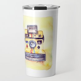 Vintage gadget series: Polaroid OneStep camera Travel Mug