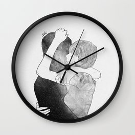 Feel me your world. Wall Clock
