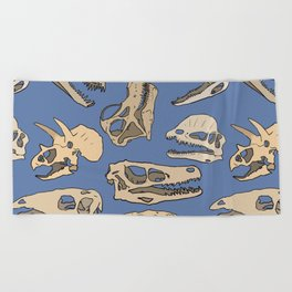 Paleontology Beach Towel