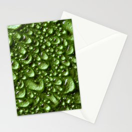 Abstract Colorful Wet Paper 02 Stationery Cards