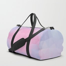 Kaleidoscopic design in soft colors Duffle Bag
